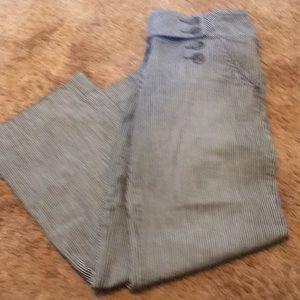 Striped Level 99 nauticalj pants